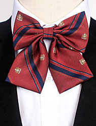 cheap -Men's Party / Work / Active Bow Tie - Striped / Print / Jacquard