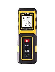 Недорогие -Ручной измеритель лазерного сопротивления vchon® x40 40м / простой в использовании / дисплей с подсветкой для установки мебели / для технических измерений / для строительства зданий