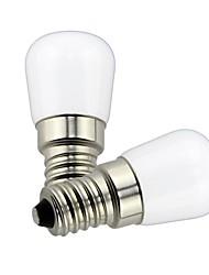 cheap -2pcs 1.5 W LED Globe Bulbs 85 lm E14 T22 1 LED Beads SMD Decorative Lovely Warm White Cold White 220 V 110 V