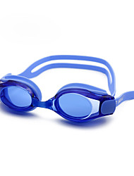 cheap -Swimming Goggles Waterproof Anti-Fog Outdoor Swimming Silicone Rubber PC Pink Blacks Blues