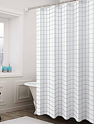 cheap -Shower Curtains & Hooks Modern Nonwoven Cool