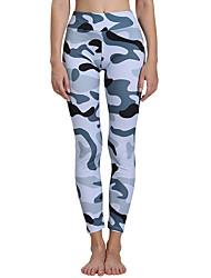 cheap -Activewear Pants Pattern / Print Women's Training Performance Natural Elastic Elastane Polyster