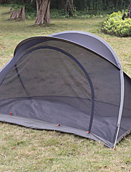 cheap -1 person Screen Tent Outdoor Lightweight Quick Dry Breathability Single Layered Poled Camping Tent <1000 mm for Camping / Hiking / Caving Picnic Oxford Cloth 220*130*120 cm