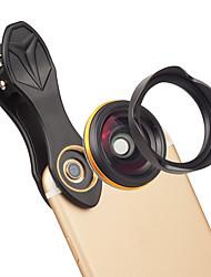 cheap -Mobile Phone Lens Wide-Angle Lens Glasses / Aluminium Alloy 1X 37 mm 0.15 m 115 ° New Design