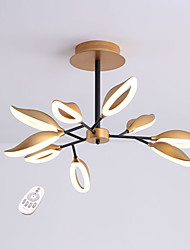 cheap -QIHengZhaoMing 9-Light 80 cm Chandelier Acrylic Painted Finishes Traditional / Classic 110-120V / 220-240V