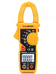 cheap -HHTL-PEAKMETER PM2018A Handheld Digital LCD Clamp Meter Multimeter AC/DC Voltage AC Current Resistance Continuity with Backlig