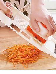 cheap -5 in 1 multifunction stainless steel vegetable grater slicing mandoline vegetable cutter adjustable carrot grater onion dicer