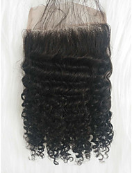 cheap -Others Curly Box Braids Black Human Hair 8 inch Braiding Hair 1 Piece