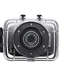Недорогие -SJ1000 720p HD / Cool Автомобильный видеорегистратор Широкий угол Датчик CMOS 1.3MP 2 дюймовый LCD Капюшон с Автомобильный рекордер