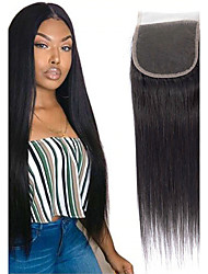 cheap -1 Bundle Brazilian Hair Straight Remy Human Hair Natural Color Hair Weaves / Hair Bulk Bundle Hair Human Hair Extensions 8-20inch Natural Color Human Hair Weaves Newborn Waterfall Cute Human Hair