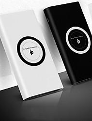 abordables -10000 mAh Pour Batterie externe de banque de puissance 5 V Pour 2.1 A Pour Chargeur de batterie Chargeur Sans Fil LED