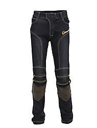 Недорогие -езда племя мужские джинсы мотоцикла приталенные защитные штаны для мотокросса гонки на мотоциклах дышащие стрейч байкерские штаны