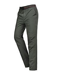 cheap -Men's Hiking Pants Outdoor Waterproof Breathable Quick Dry Ventilation Pants / Trousers Bottoms Fishing Climbing Camping / Hiking / Caving Army Green Khaki Dark Blue 4XL M L XL XXL / Wear Resistance