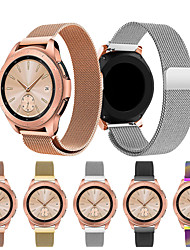 cheap -Watch Band for Samsung Galaxy Watch 42 Samsung Galaxy Sport Band / Milanese Loop Stainless Steel Wrist Strap