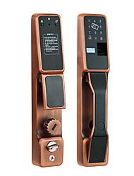 Недорогие -5YOA FPLock02 Замок / Пароль / Набор систем контроля доступа RFID / Низкое напоминание о батарее / Записать запрос отпечаток пальца / пароль / Удостоверение личности Дома / квартира / Для школы