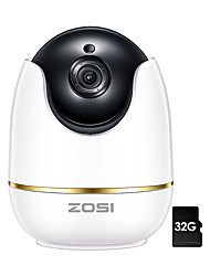 cheap -ZOSI Wifi IP Camera 1080P Wireless Mini CCTV P2P Camera Baby Monitor Security P/T Micro SD Card Camera Free IOS & Android APP Indoor IR-Cut Night Vision