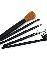 cheap -Professional Makeup Brushes 5 pcs Soft Synthetic Horse Hair Pony Brush Wooden / Bamboo for Eyeliner Brush Blush Brush Foundation Brush Makeup Brush Lip Brush Eyebrow Brush Eyeshadow Brush