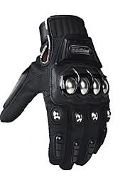 abordables -Madbike Unisexe Gants de moto Cuir de Vachette Poids Léger / Antiusure / Résistant aux Chocs