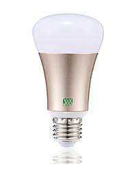 Недорогие -YWXLIGHT® 1шт 7 W Круглые LED лампы 600-700 lm E26 / E27 20 Светодиодные бусины SMD 5730 Контроль APP Smart Диммируемая RGB RGBWW 85-265 V