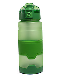 cheap -Kettle Water Bottle 700 ml PP Durable for Camping / Hiking Traveling Green Grey Orange Blue Pink