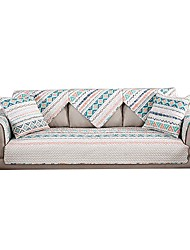 cheap -Sofa Cover / Sofa Cushion Print / Neutral Printed / Quilted Cotton Slipcovers
