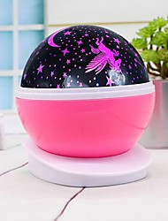 cheap -1pc Sky Projector Light Staycation Colorful AA Batteries Powered USB For Children Atmosphere Lamp Romantic <=36 V
