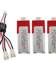 Недорогие -XK K120 7.4V 450mAh 1 комплект батарея