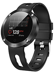 cheap -DM58 PLUS Unisex Smartwatch Android iOS Bluetooth Waterproof Touch Screen Heart Rate Monitor Blood Pressure Measurement Sports Stopwatch Pedometer Call Reminder Activity Tracker Sleep Tracker