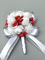 """cheap -Wedding Flowers Boutonnieres Event / Party / Wedding Party Poly / Cotton Blend 1.57""""(Approx.4cm)"""