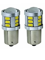 cheap -SENCART 2pcs BA15S(1156) / BAY15D(1157) Motorcycle / Car Light Bulbs 5 W SMD 5630 450 lm 18 LED Turn Signal Lights / Tail Lights / Brake Lights For universal