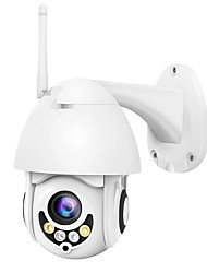 cheap -A-Q1-20 1080P 2mp IP Camera Security Camera Surveillance PTZ Camera Pant Tilt Outdoor Support 128 GB Night Vision IP66 Waterproof 5X Zoom Motion Detection Mobile Phone Monitoring