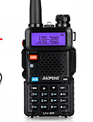 cheap -Baofeng Walkie Talkie UV-5R Two Way CB Radio Upgrade Version 128CH 5W VHF UHF 136-174MHZ & 400-520MHZ Portable Ham Radio Station Amateur Intercome HF Transceiver UV5R Earphone