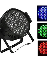 cheap -1 set 80 W / 175 W 3200 lm 54 LED Beads Creative Dimmable Easy Install LED Stage Light / Spot Light RGB Color-changing 220-240 V Commercial Stage Hallway / Stairwell