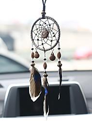 Недорогие -Ловец снов ручной работы с перьевой подвеской на стену декор для дома декор