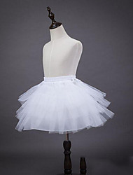 cheap -Ballet Classic Lolita 1950s Dress Petticoat Hoop Skirt Tutu Crinoline Women's Girls' Tulle Costume White Vintage Cosplay Party Performance Princess