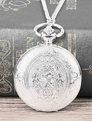 cheap -Men's Pocket Watch Quartz Casual Casual Watch Analog Silvery / White / Large Dial