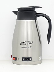 cheap -1.2L Stainless steel Car Electric Kettle Low Noise/automatic power-off/One button switch, for car truck