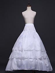 cheap -Bride Classic Lolita 1950s Layered Dress Petticoat Hoop Skirt Crinoline Women's Girls' Costume White Vintage Cosplay Party Performance Princess