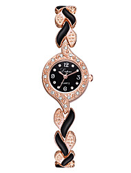 cheap -Women's Quartz Watches Quartz Modern Style Classic Cute Silver / Rose Gold Analog - Rose Gold White Blushing Pink