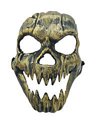 cheap -Cosplay Costume Mask Inspired by Skeleton / Skull Scary Movie Golden Silver Cosplay Halloween Halloween Carnival Masquerade Adults' Men's Women's