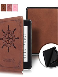 cheap -Case For Amazon Kindle PaperWhite 4 2018 Shockproof / Flip / Origami Full Body Cases Geometric Pattern Hard PU Leather