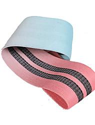 """cheap -Exercise Resistance Bands 2 1/5"""" (5.5 cm) Diameter Terylene Latex silk Leg Strength Muscle Yoga Pilates Fitness For Unisex Leg"""