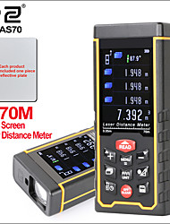 Недорогие -лазерный дальномер rz дальномер дальномер охота цифровой ручной дальномер 70 м линейка лазерный дальномер как 70