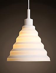 cheap -1-Light LED® Cone Geometrical Pendant Light Downlight Resin Resin Cute Creative 110-120V 220-240V