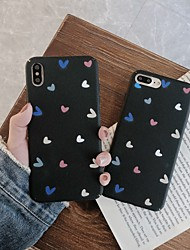 cheap -Case For Hot model Apple iPhone XR / iPhone XS Max Pattern Back Cover Heart Soft TPU for iPhone 6  6 Plus  6s 6s plus 7 8 7 plus 8 plus X XS XR XS MAX