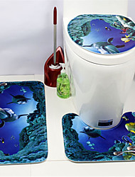 cheap -1 set Cartoon / Modern Bath Mats Acetate Novelty / Animal Non-Slip / Creative