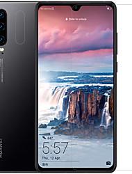 Недорогие -HuaweiScreen ProtectorHuawei P30 HD Протектор объектива спереди и камеры 1 ед. Закаленное стекло