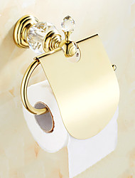 cheap -Toilet Paper Holder Creative Brass 1pc Wall Mounted