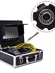 cheap -23 mm lens Industrial Endoscope 30M Working length 9 Inch Display Car Repair Inspection Pipeline repair
