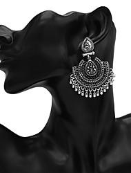 cheap -Women's Drop Earrings Earrings Jewelry Gold / Silver For Promise 1 Pair